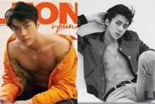 """เซฮุน เป็นหนุ่มแล้ว!โชว์ซิกแพ็คสุดเป๊ะขึ้นปกนิตยสาร """"Leon"""""""