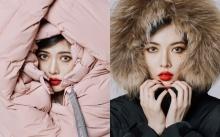 """ส่องสไตล์ """"ฮยอนอา"""" เผยลุคใหม่แบบเฟี๊ยซๆในภาพถ่ายแฟชั่นชุดหน้าหนาว"""