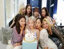 Girls' Generation รียูเนียนอีกครั้ง เพื่อฉลองวันเกิดของ ทิฟฟานี่ ยอง