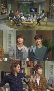 จองชินเผย ยงฮวาและจงฮยอนแบ่งกางเกงในใช้กัน!