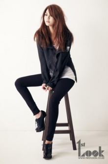ซูยองแห่ง SNSD เผยภาพในนิตยสาร 1st Look