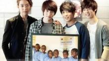 """""""CNBLUE"""" นำเงินจากงานเวิร์ลทัวร์ มาสร้างโรงเรียนแห่งที่ 2 ให้เด็กๆ"""