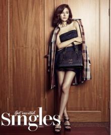 คิมฮานึล (Kim Ha Neul) เผยอัลบั้มภาพสุดหรูใน Singles