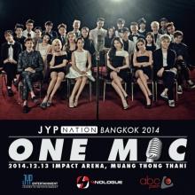 โฟร์โนล็อคจัดเต็ม!! JYP NATION in BANGKOK 2014 <ONE MIC>