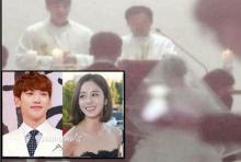 มาแล้ว !! ภาพแรก เรน-คิม แทฮี ส่งตรงจากงานวิวาห์!!