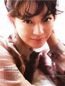 Shin Min Ah – Cosmopolitan Magazine January Issue '12