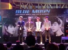 4 หนุ่ม CN Blue สบตาสาวไทย