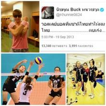 วอลเลย์บอลไทยฟีเวอร์นิชคุณ 2PM ทวิตต์ข้อความถึง!!