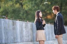 กรี๊ดกระจายกับเบื้องหลังฉากจูบของ อี มินโฮ-พัค ชินฮเย