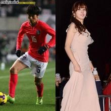 รวมภาพหวานๆคิง ซุงยองนักบอลเกาหลีสุดหล่อและ ภรรยานางเอกดัง