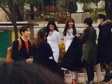 เอ๊ะๆ หนุ่มๆ EXO และ สาวๆ SNSD เค้าแอบไปทำอะไรกัน!!