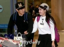 ซองมิน - คิม ซาอึน  ออร่าความสุข ฉายชัด!!หลังกลับจาก ฮันนิมูน