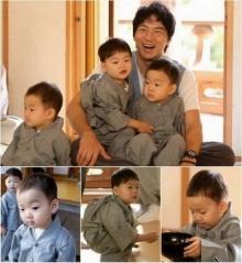 แทฮัน ,มินกุก, มันเซ แฝด 3 ลูกจูมงแจ้งเกิด