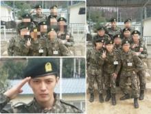 'ติ่งจ๋า'เห็นยัง ! ภาพ 'แจจุง โอป้า' ใน 'ชุดทหาร' มาแล้ว!!