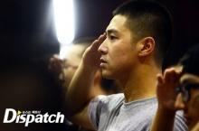ภาพแรก ของ พลทหาร ยุนโฮ ดงบังชินกิ