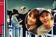 สื่อจีน ซูมภาพเด็ด!! ซง จุงกิ - ซง เฮคโย  ขณะไปเที่ยวด้วยกัน!!