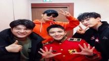 ชินดง, ดงเฮ และอึนฮยอก Super Junior โชว์การสนับสนุนรยออุค ที่งานคอนเสิร์ตของกองทัพ
