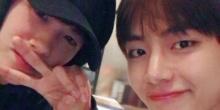 วี  พัคฮยองชิก โชว์ความโบรแมนซ์น่ารักๆที่งาน 27th Seoul Music Awards