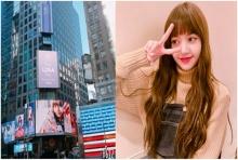 ลิซ่า BLACKPINK โพสต์ขอบคุณแฟนๆ หลังซื้อโฆษณาTime Square อวยพรวันเกิด