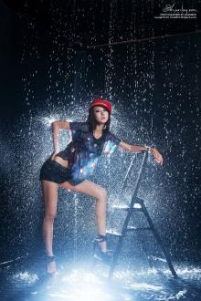 สาวเซ็กซี่ Park Hyun Sun In The Rain