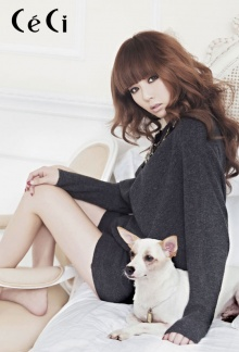 4minute Ceci & Puppies