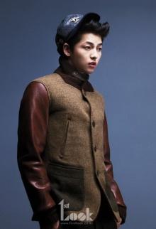 Song Joong Ki ในนิตยสาร 1st Look