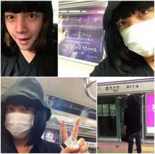 อีกแล้ว!จาง กึนซอกแต่งหญิงขึ้นรถไฟฟ้าใต้ดิน!