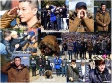 Lee Teuk Super Junior รายงานตัวเข้ากรมท่ามกลางแฟนๆ