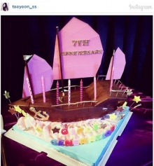 ภาพแรกในIGของ แทยอน หลังข่าวออกเดตกับแบคฮยอน EXO