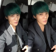 จุนซู JYJ สีผมใหม่!! สำหรับอัลบั้มใหม่ของเขา!!