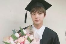 จิน BTS เรียนจบแล้ว!!