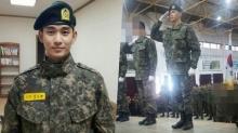 คิมซูฮยอน กับภาพในเครื่องแบบทหารเซ็ตล่าสุด!