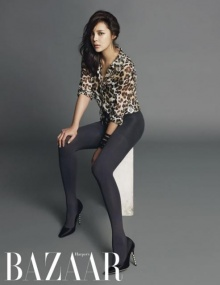 ซองจุงกิ ,ปาร์คซียอน เผยภาพแฟชั่นในนิตยสาร Harpers Bazaar