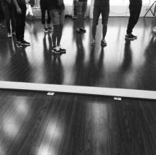ทงแฮ แห่ง Super Junior เผยภาพถ่ายปริศนาในห้องซ้อมเต้น