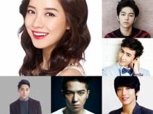 จีฮโย จะเป็นดอกไม้งามท่ามกลาง 5 หนุ่ม ในงาน Gayo Daejun