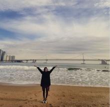 """""""ยูอี""""(After School) โพสต์ภาพแรก ลง IG กับชายหาดสุดสวยที่พูซาน"""