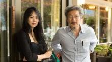 ฉาวต่อเนื่อง !! คิมมินฮีแอบแต่งงานลับๆกับผู้กำกับฮงซังซูในอเมริกาทั้งที่ฝ่ายชายยังไม่หย่า
