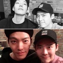 แฟนคลับกรี๊ด!!! อีจองซอก อัพ IG ภาพคู่ คิมอูบิน เพื่อนรัก