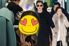 แชร์สนั่น!!! ภาพ เรน-คิมแทฮี โชว์หวานบนเครื่องบิน ก่อนแจกรอยยิ้มให้แฟนคลับ