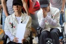 เตนล์ NCT เข่าเจ็บนั่งวีลแชร์กลับไทย ผ่อนผันทหาร!!(คลิป)