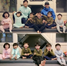 อีซูจิน ภรรยาอีดงกุก โพสต์ภาพมีตติ้งครอบครัวของเธอ และครอบครัวแฝดสาม !!