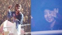 ยูอินนา ร้องไห้ด้วยความซาบซึ้งที่งานคอนเสิร์ตเพื่อนรัก ไอยู (IU)