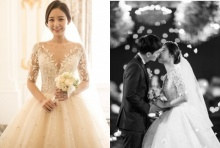 เผยภาพจากงานแต่งงานของพัคยูราพี่สาวชานยอล EXO