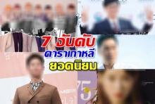 อยากรู้เช็ค!! 7 อันดับดาราเกาหลี ยอดนิยม ประจำปี 2018 มีใครบ้าง?