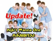 อัพเดทเส้นทางใหม่ของหนุ่มๆ Wanna One หลังแยกวง