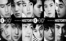 EXO กระแสแรงคว้า No.1 ทั้งซีดี เพลงออนไลน์ และรายการเพลง
