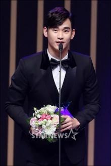 คิมซูฮยอนคว้ารางวัลแดซังนำทีม My Love From The Star กวาด 5 รางวัลใน KDA2014