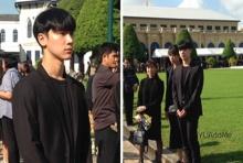 ชมภาพ เตนล์ NCT พร้อม ครอบครัว เดินทางร่วมถวายอาลัย ในหลวงรัชกาลที่ 9