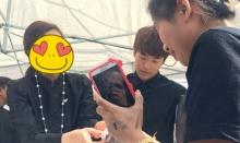 ฮือฮาลั่นสนามหลวง!! สาวเกาหลีไปแจกของประชาชน พอดูดีดี ดาราชื่อดัง!!(มีคลิป)