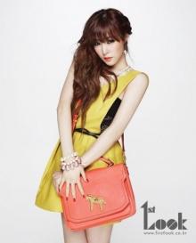 Tiffany แห่ง SNSD เผยภาพแฟชั่นใหม่ในนิตยสาร 1st Look